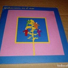 CDs de Música: GRABACIONES EN EL MAR CD ALBUM LA HABITACION ROJA EL NIÑO GUSANO BOGUSFLOW HEROES DEL SILENCIO. Lote 146861369
