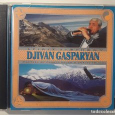 CDs de Música: 2 CD THE GREATEST HITS OF DJIVAN GASPARYAN - MASTERS OF CHANTS RELAX & SPIRITS SOUNDS. Lote 146883446