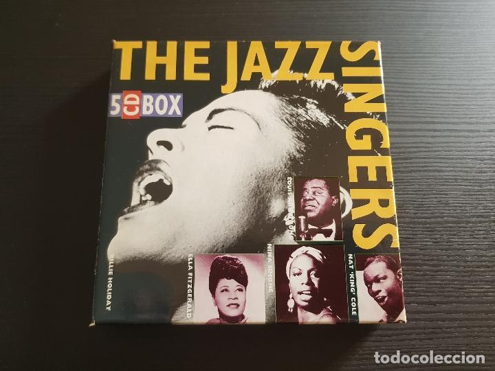 THE JAZZ SINGERS - 5 CD BOX - JAZ WORLD - 1992