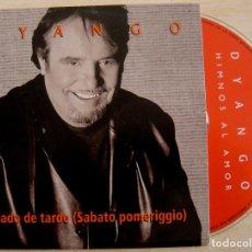 CDs de Música: DYANGO - HIMNOS AL AMOR - CD SINGLE PROMOCIONAL - 2001 - HORUS. Lote 146902730