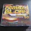 CDs de Música: REMIXED GLORY - DANCE 90 - VOLUMEN 2 - TRIPLE CD ALBUM - DIVUCSA - 2006. Lote 146926054