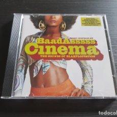 CDs de Música: BAADASSSSS CINEMA - THE SOUNDS OF BLAXPLOITATION - CD ALBUM - TVT - 2002. Lote 146927834