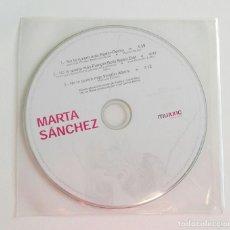CDs de Música: MARTA SANCHEZ 'NO TE QUIERO MÁS (REMIX)' CD SINGLE PROMO PUMPIN' DOLLS RADIO EDIT. Lote 146929802