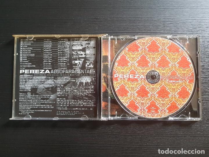 CDs de Música: PEREZA - ALGOPARACANTAR - EDICIÓN ESPECIAL - CD ALBUM - BMG - 2002 - LEIVA - ALGO PARA CANTAR - Foto 3 - 146931334