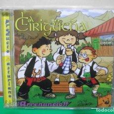 CDs de Música: LA CIRIGUEÑA ARRENUNCIO ¡¡ ASTURIAS PRODUCTO ASTURIANO CD ALBUM NUEVO¡¡ PEPETO. Lote 146936710
