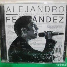 CDs de Música: ALEJANDRO FERNANDEZ ROMPIENDO FRONTERAS CD + DVD NUEVO¡¡. Lote 146940958