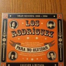 CDs de Música: LOS RODRÍGUEZ. PARA NO OLVIDAR. CALAMARO, ARIEL ROT. 2 CDS+DVD EDICIÓN LIMITADA. Lote 146948481