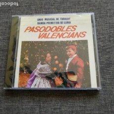 CDs de Música: CD PASODOBLES VALENCIANS - UNIO MUSICAL DE TORRENT - BANDA PRIMITIVA DE LLIRIA - VALENCIA - NUEVO !!. Lote 262146990