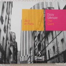 CDs de Música: DIZZY GILLESPIE. THE GIANT. JAZZ IN PARIS. GITANES. COMPACTO CON 5 TEMAS.. Lote 147028114