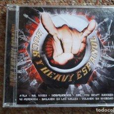 CDs de Música: ROCK HEAVY NACIONAL , RECOPILATORIO , CD BUEN ESTADO , . Lote 147029530