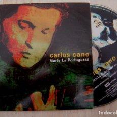CDs de Música: CARLOS CANO - MARIA LA PORTUGUESA - CD SINGLE PROMOCIONAL 2000 - EMI. Lote 147036894