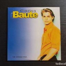 CDs de Música: CARLOS BAUTE - MI MEDICINA - CD SINGLE - PROMO - EMI - 2000. Lote 147041558