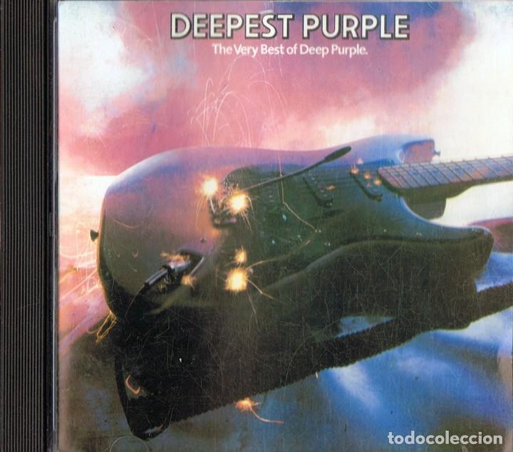 DEEPEST PURPLE ¨THE VERY BEST OF DEEP PURPLE¨ (CD) (Música - CD's Country y Folk)