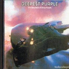 CDs de Música: DEEPEST PURPLE ¨THE VERY BEST OF DEEP PURPLE¨ (CD). Lote 147069894