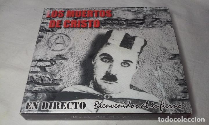 LOS MUERTOS DE CRISTO EN DIRECTO - BIENVENIDOS AL INFIERNO - CAJA CARTON CON DOBLE CD ROCK + LIBRETO (Música - CD's Rock)