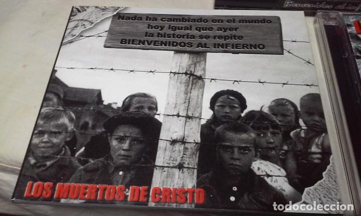 CDs de Música: LOS MUERTOS DE CRISTO EN DIRECTO - BIENVENIDOS AL INFIERNO - CAJA CARTON CON DOBLE CD ROCK + LIBRETO - Foto 3 - 147091878