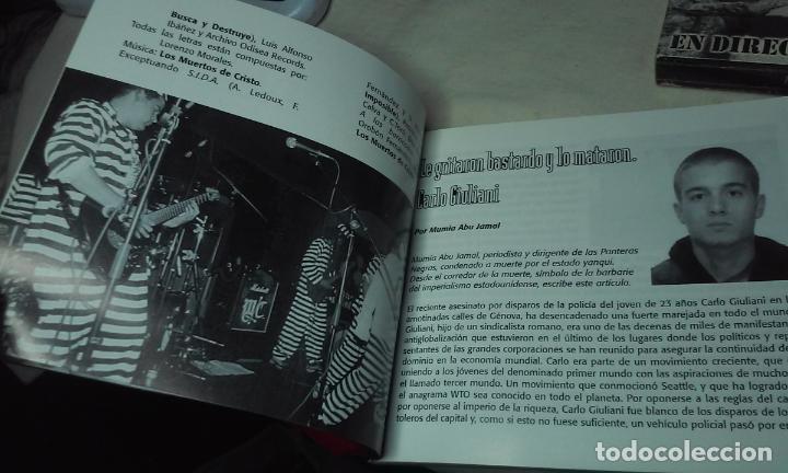 CDs de Música: LOS MUERTOS DE CRISTO EN DIRECTO - BIENVENIDOS AL INFIERNO - CAJA CARTON CON DOBLE CD ROCK + LIBRETO - Foto 4 - 147091878