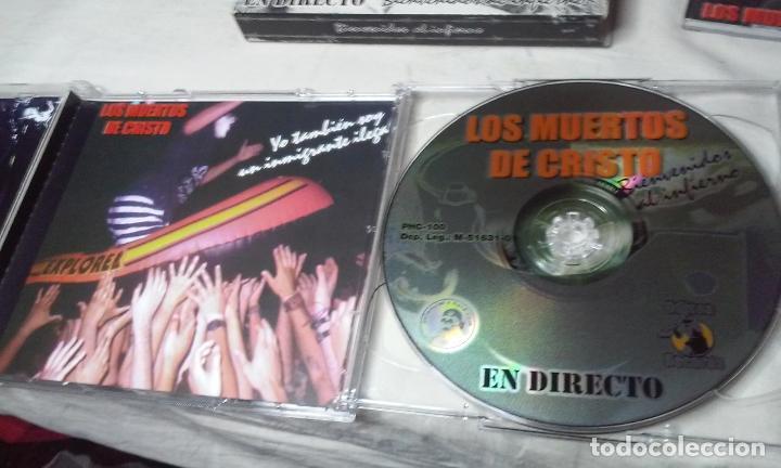 CDs de Música: LOS MUERTOS DE CRISTO EN DIRECTO - BIENVENIDOS AL INFIERNO - CAJA CARTON CON DOBLE CD ROCK + LIBRETO - Foto 9 - 147091878