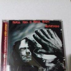CDs de Música: ROSENDO. PARA MAL O PARA BIEN. EN PERFECTO ESTADO.. Lote 147109962