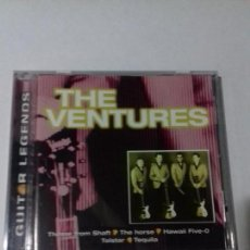 CDs de Música: THE VENTURES. GUITAR LEGENDS. EN PERFECTO ESTADO.. Lote 147110642