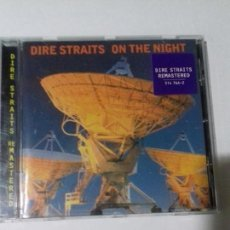CDs de Música: DIRE STRAITS. ON THE NIGHT. EN PERFECTO ESTADO.. Lote 147111338