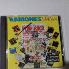 CDs de Música: RAMONES. MANIA. EN PERFECTO ESTADO.. Lote 147111734