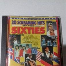 CDs de Música: 20 SCREAMING HITS OF THE SIXTIE. EN PERFECTO ESTADO.. Lote 147111934