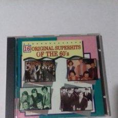 CDs de Música: 16. ORIGINAL SUPERHITS OF THE 60 EN PERFECTO ESTADO.. Lote 147112022