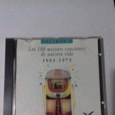 CDs de Música: LAS 100 MEJORES CANCIONES DE NUESTRA VIDA. 1963-1973. VOL. 8. EN PERFECTO ESTADO.. Lote 147112066