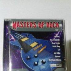 CDs de Música: MASTERS OF ROCK. VOL. 1. EN PERFECTO ESTADO.. Lote 147112118