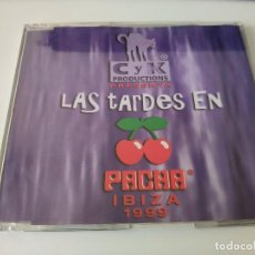 CDs de Música: LAS TARDES EN PACHA IBIZA 1999 PROMO CD. THE BLOCKSTER, RUFF DRIVERZ, PROPHETS OF SOUND, ULTRA NATE. Lote 147113142