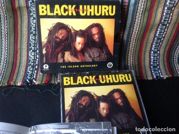 BLACK UHURU - LIBERATION: THE ISLAND ANTHOLOGY. DOBLE CD,CONTIENE LIBRO. REGGAE DUB. (Música - CD's Reggae)