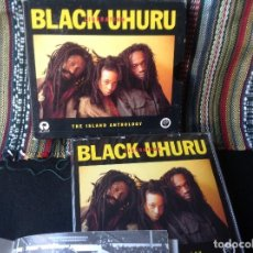 CDs de Música: BLACK UHURU - LIBERATION: THE ISLAND ANTHOLOGY. DOBLE CD,CONTIENE LIBRO. REGGAE DUB.. Lote 147124318