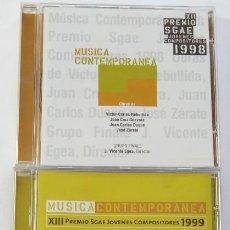 CDs de Música: LOTE DE 3 CDS PREMIO SGAE JÓVENES COMPOSITORES (MUY RAROS. DESCATALOGADOS).. Lote 147174634
