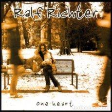 CDs de Música: RALF RICHTER - ONE HEART. Lote 147218786