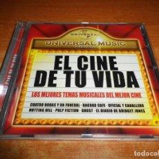 CDs de Música: EL CINE DE TU VIDA BANDAS SONORAS CD ALBUM 2004 ESPAÑA CUATRO BODAS Y UN FUNERAL BAGDAD CAFE GHOST. Lote 147234590
