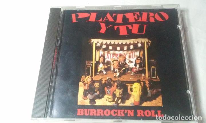 PLATERO Y TU -BURROCK'N ROLL- CD ROCK VASCO AÑOS 90 (Música - CD's Rock)