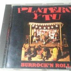 CDs de Música: PLATERO Y TU -BURROCK'N ROLL- CD ROCK VASCO AÑOS 90. Lote 147240546