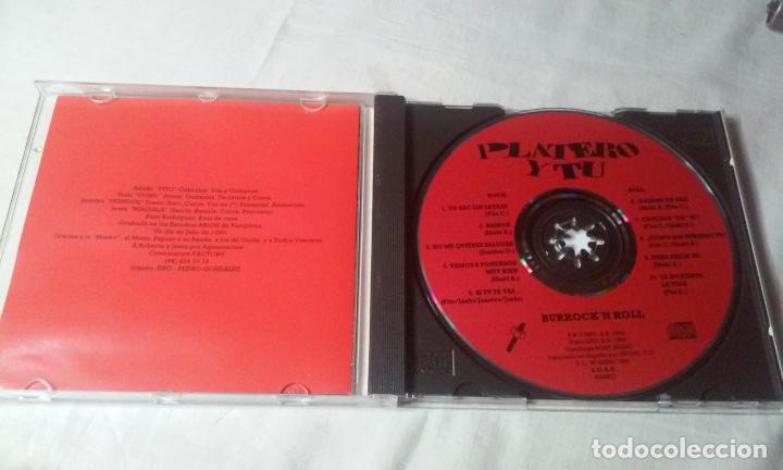 CDs de Música: PLATERO Y TU -BURROCKN ROLL- CD ROCK VASCO AÑOS 90 - Foto 2 - 147240546