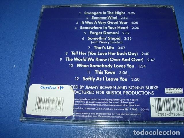 CDs de Música: CD - Frank Sinatra. Greatest Hits SIN ABRIR RETRACTILADO - Foto 2 - 147260238