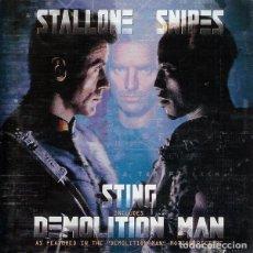 CDs de Música: DEMOLITON MAN / STING CD BSO. Lote 147260446