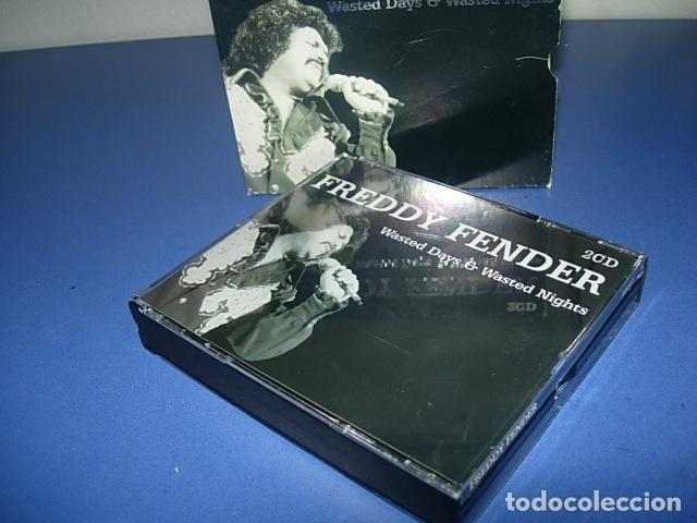 FREDDY FENDER (2 DISCOS)– WASTED DAYS & WASTED NIGHTS (Música - CD's Otros Estilos)