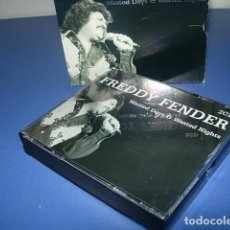 CDs de Música: FREDDY FENDER (2 DISCOS)– WASTED DAYS & WASTED NIGHTS. Lote 147273730