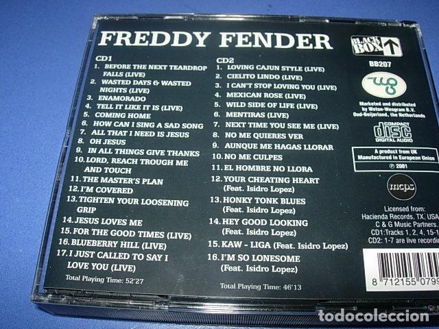 CDs de Música: Freddy Fender (2 DISCOS)– Wasted Days & Wasted Nights - Foto 2 - 147273730