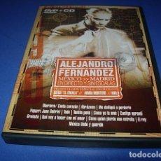 CDs de Música: ALEJANDRO FERNANDEZ MEXICO MADRID EN DIRECTO Y SIN ESCALAS CD + DVD. Lote 147274762