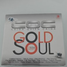 CDs de Música: CQC GOLD SOUL 75 SOUL CLASSICS TRIPLE CD NUEVO PRECINTADO. Lote 147295490