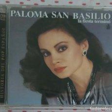 CDs de Música: PALOMA SAN BASILIO (LA FIESTA TERMINO) CD 1998 SERIE HISTORIA DEL POP ESPAÑOL. Lote 147308758