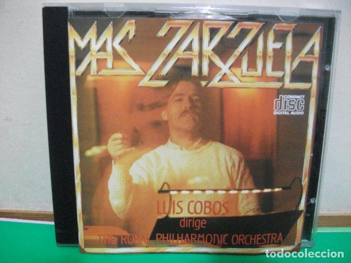 CD DE LUIS COBOS - MÁS ZARZUELA CON LA ROYAL PHILARMONIC ORQUESTRA. DISCOS CBS, GRABADO 1986 PEPETO (Música - CD's Flamenco, Canción española y Cuplé)