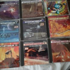 CDs de Música: SYNTHETISEUR / 9 CD / 9 CDS / LES PLUS GRANDS THEMES. Lote 147327380