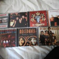 CDs de Música: MOCEDADES / EL CONSORCIO / 7 CD. Lote 147328306